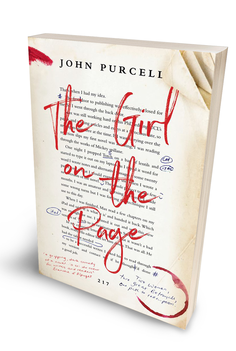 The Girl on the Page by John Purcell